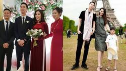 Tưởng soái ca nào số hưởng lấy được vợ xinh đẹp, nhìn kỹ thì ra là em trai Hoa hậu Dương Thùy Linh