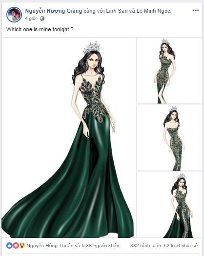 Sát giờ chung kết Hoa hậu Chuyển giới Quốc tế, Hương Giang thả thính bằng 4 bộ đầm dạ hội đẹp nghẹn lời-1