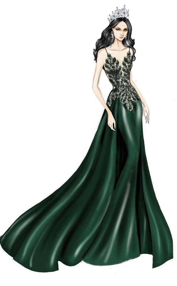 Sát giờ chung kết Hoa hậu Chuyển giới Quốc tế, Hương Giang thả thính bằng 4 bộ đầm dạ hội đẹp nghẹn lời-2
