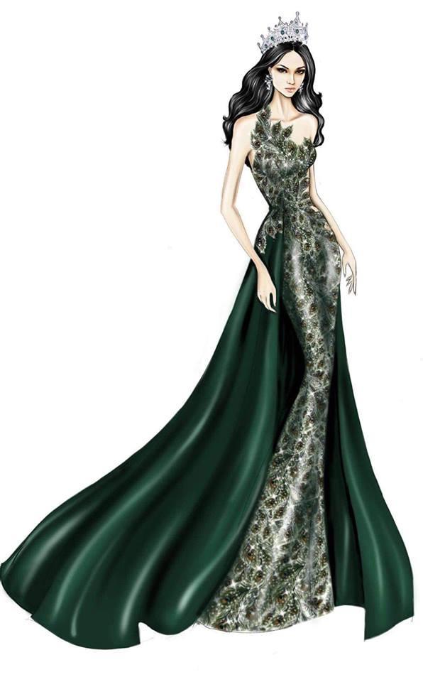Sát giờ chung kết Hoa hậu Chuyển giới Quốc tế, Hương Giang thả thính bằng 4 bộ đầm dạ hội đẹp nghẹn lời-3