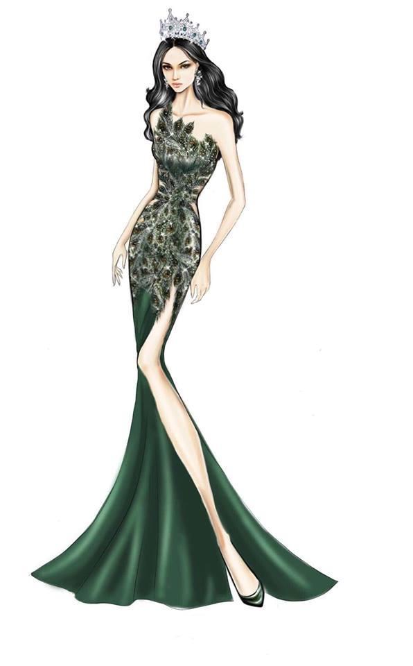 Sát giờ chung kết Hoa hậu Chuyển giới Quốc tế, Hương Giang thả thính bằng 4 bộ đầm dạ hội đẹp nghẹn lời-4