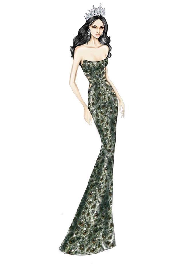 Sát giờ chung kết Hoa hậu Chuyển giới Quốc tế, Hương Giang thả thính bằng 4 bộ đầm dạ hội đẹp nghẹn lời-5