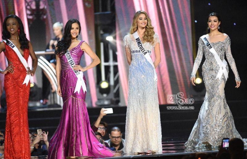 Không phải HHen Niê, Lệ Hằng là cô gái duy nhất giúp Việt Nam sánh ngang Venezuela tại Miss Universe-10