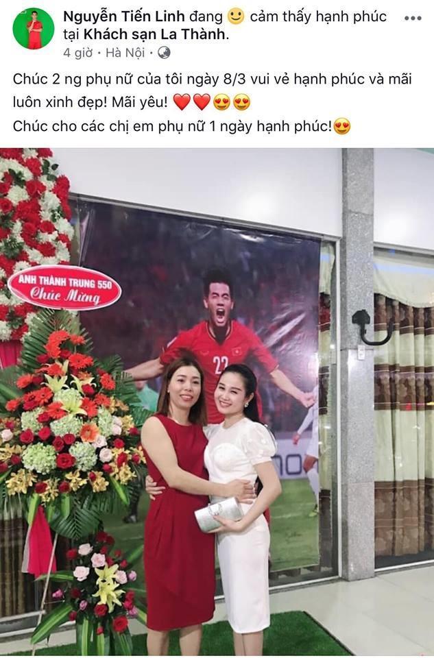 Các cầu thủ Việt Nam gửi lời chúc cảm động tới mẹ và một nửa yêu thương vào ngày 8/3-9