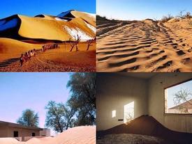 Ngôi làng 'ma thuật' trên sa mạc, xuất hiện vào ban ngày, biến mất vào ban đêm