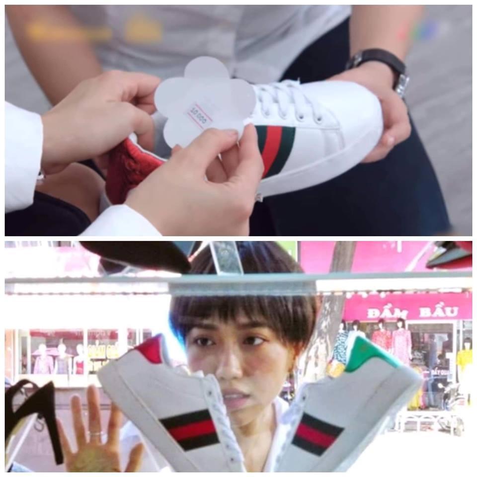 GÓC BÓC PHỐT: Thúy Diễm nghe điện thoại ngược, Diệu Nhi mua giày hiệu có giá... 10 nghìn đồng-3