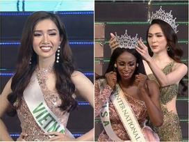 Nhật Hà không thể kế thừa vương miện Hoa hậu Chuyển giới của Hương Giang, đăng quang là người đẹp Mỹ