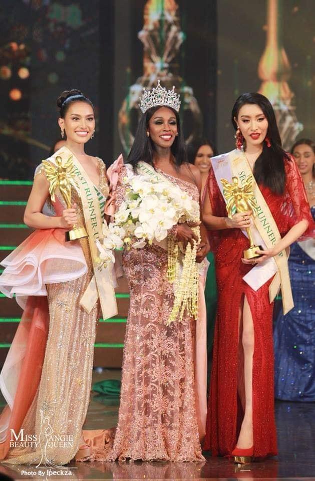 Đăng quang Hoa hậu Chuyển giới 2019, người đẹp Mỹ nhảy như vịt đập cánh khiến Hương Giang cũng phải ngỡ ngàng-9