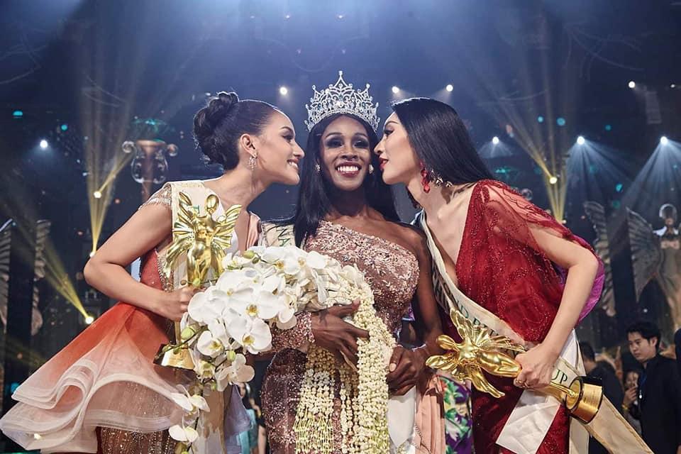Đăng quang Hoa hậu Chuyển giới 2019, người đẹp Mỹ nhảy như vịt đập cánh khiến Hương Giang cũng phải ngỡ ngàng-10