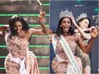 Đăng quang Hoa hậu Chuyển giới 2019, người đẹp Mỹ nhảy như 'vịt đập cánh' khiến Hương Giang cũng phải ngỡ ngàng