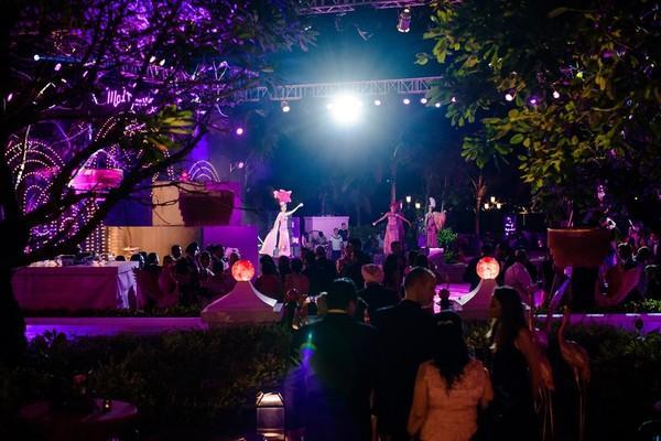 Cận cảnh bữa tiệc đầu tiên trong đại tiệc cưới của cặp tỷ phú Ấn Độ tại khu nghỉ dưỡng ở Phú Quốc-9
