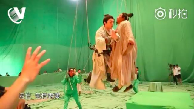 Sự thật cảnh bay lượn như chim của Trương Vô Kỵ trong Tân Ỷ Thiên Đồ Long ký-5