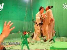 Sự thật cảnh bay lượn 'như chim' của Trương Vô Kỵ trong 'Tân Ỷ Thiên Đồ Long ký'