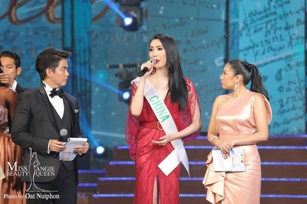 Á hậu 2 Miss International Queen bị 'ném đá' vì 'copy' câu trả lời ứng xử của H'Hen Niê?-1