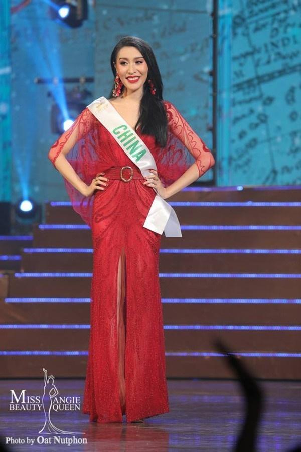 Á hậu 2 Miss International Queen bị 'ném đá' vì 'copy' câu trả lời ứng xử của H'Hen Niê?-2