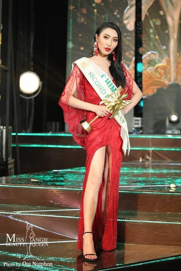 Á hậu 2 Miss International Queen bị 'ném đá' vì 'copy' câu trả lời ứng xử của H'Hen Niê?-4