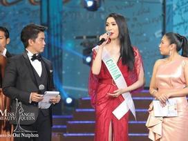 Á hậu 2 Miss International Queen bị 'ném đá' vì 'copy' câu trả lời ứng xử của H'Hen Niê?