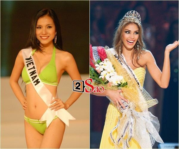 Không phải HHen Niê, Lệ Hằng là cô gái duy nhất giúp Việt Nam sánh ngang Venezuela tại Miss Universe-4