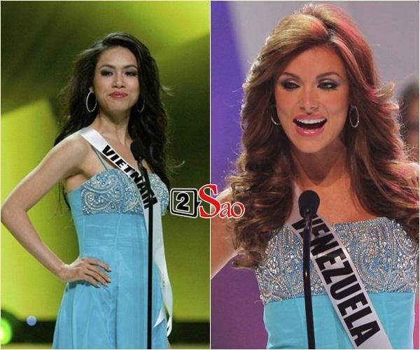 Không phải HHen Niê, Lệ Hằng là cô gái duy nhất giúp Việt Nam sánh ngang Venezuela tại Miss Universe-6