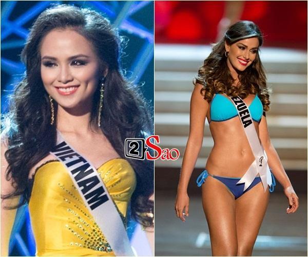 Không phải HHen Niê, Lệ Hằng là cô gái duy nhất giúp Việt Nam sánh ngang Venezuela tại Miss Universe-7