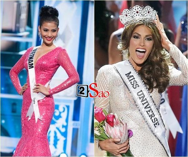 Không phải HHen Niê, Lệ Hằng là cô gái duy nhất giúp Việt Nam sánh ngang Venezuela tại Miss Universe-8