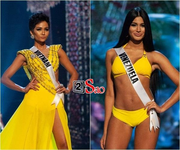 Không phải HHen Niê, Lệ Hằng là cô gái duy nhất giúp Việt Nam sánh ngang Venezuela tại Miss Universe-12