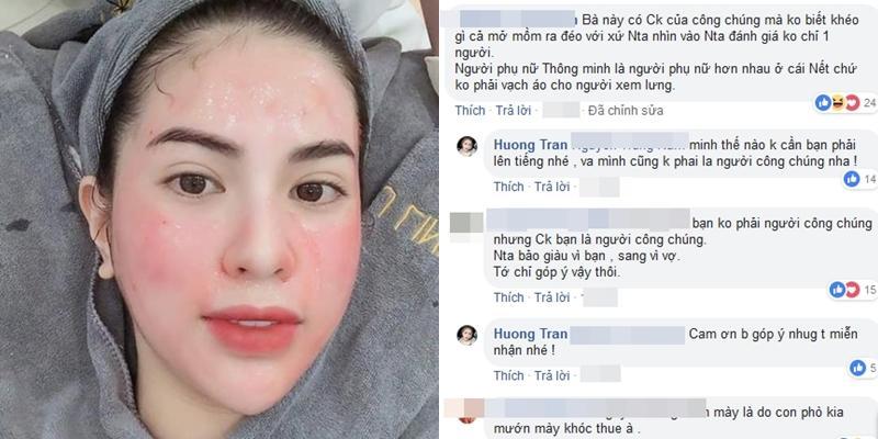 Vợ Việt Anh đáp trả gay gắt khi bị chỉ trích có chồng là người công chúng mà ứng xử kém-2