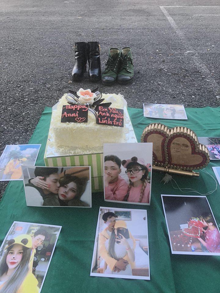 Bạn trai đi lính được hơn nửa tháng, gái xinh bí mật tổ chức kỷ niệm 6 tháng yêu nhau khiến ai cũng ghen tỵ-2