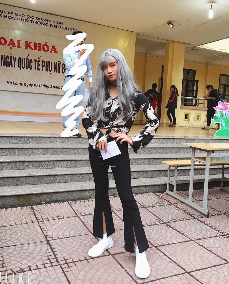 Giả gái nhưng số đo 3 vòng đâu ra đấy, nam sinh Quảng Ninh khiến hội gái trẻ truy tìm bằng được mặt thật-3