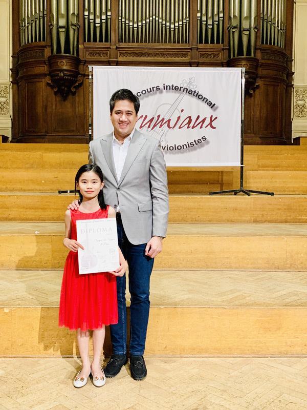 Học trò Bùi Công Duy đạt giải nhất cuộc thi violin quốc tế-4