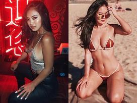 Trước khi bị tung ảnh nhan sắc đời thường 'xấu hết vía', hotgirl Ashley Phương Thảo từng mang tiếng 'chị trùm môi giới mại dâm'