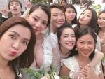 Nhã Phương, Hoàng Oanh và Ái Phương gây chú ý trong lễ cưới bạn thân
