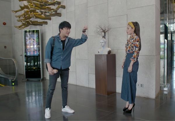 Chi Pu nhờ B Trần đóng giả chồng sắp cưới trong tập 27 Mối Tình Đầu Của Tôi-5