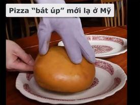 Hấp dẫn bát pizza ngập phô mai chỉ có ở Mỹ
