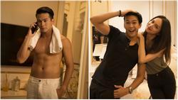 Danh tính 'không phải dạng vừa' của nam chính 6 múi trong MV 'Em đã thấy anh cùng người ấy' made by Hương Giang Idol
