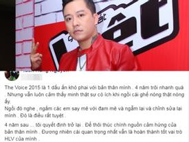 Tuấn Hưng xác nhận trở lại 'The Voice' dù từng tuyên bố sẽ rút lui vĩnh viễn