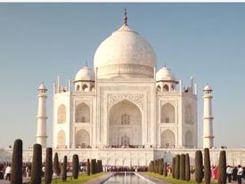 Lăng mộ tráng lệ làm 'minh chứng tình yêu' giữa vua Ấn Độ và vợ