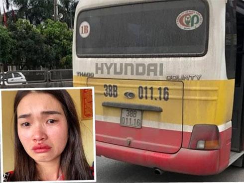 Nữ hành khách bị đánh dập mũi vì quay clip xe buýt lạng lách-1