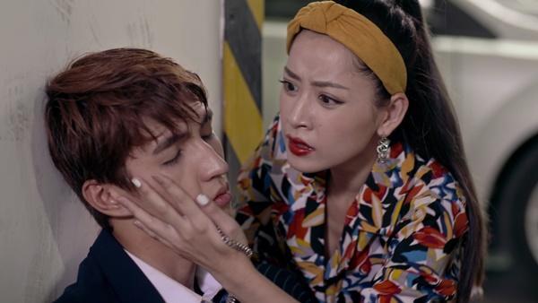 Bình An cảm động trước sự chăm sóc tận tình của Chi Pu trong tập 28 Mối Tình Đầu Của Tôi-5
