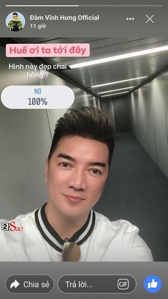 Trưng cầu dân ý có đẹp trai không, Đàm Vĩnh Hưng nhận cái kết tức tưởi khi 100% khán giả bấm nút: Không-1