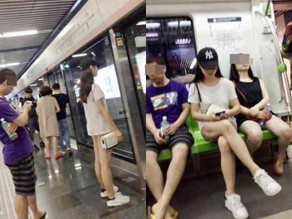 Mặc áo phông ngắn nhưng không diện đồ lót, cô gái trẻ hớ hênh lộ cả vòng 3 khiến người đối diện đỏ mặt không dám nhìn-1