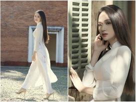 Đau ruột với màn catwalk 'fail' chưa từng có của Hương Giang ở hậu trường MV 'Em đã thấy anh cùng người ấy'