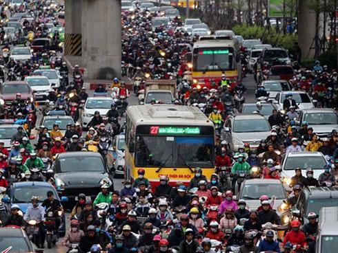 Hà Nội cấm xe máy: Giám đốc Sở quả quyết đã nghiên cứu ở Trung Quốc-1