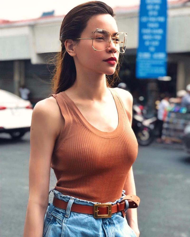 STREET STYLE sao Việt: Hương Giang, Hà Hồ, Bích Phương, Mỹ Tâm, Soobin Hoàng Sơn và những công thức phối đồ jeans cực kỳ thú vị-1