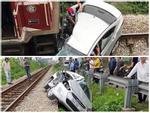 Vụ tàu hỏa húc văng ô tô: 5 nạn nhân đi ăn cưới là người thân-3