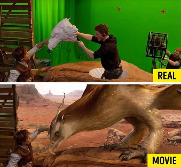 15 cảnh quay ấn tượng trong phim Hollywood: thực tế và trong phim-2