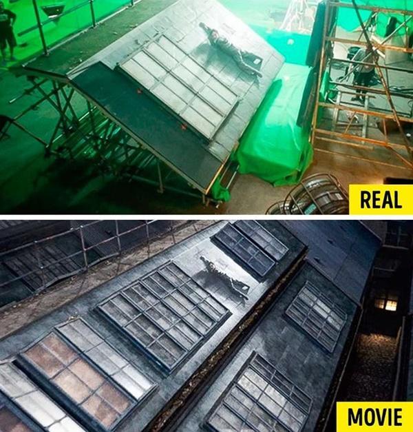 15 cảnh quay ấn tượng trong phim Hollywood: thực tế và trong phim-11