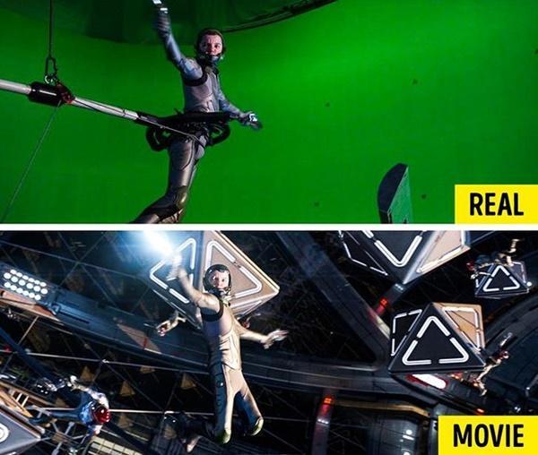 15 cảnh quay ấn tượng trong phim Hollywood: thực tế và trong phim-15
