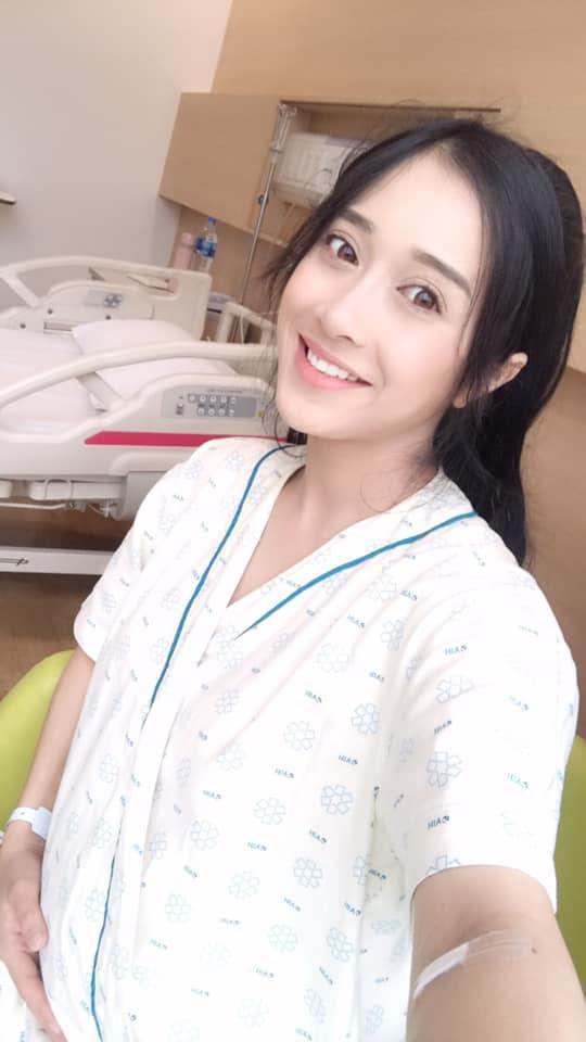 Lâu lắm mới chụp hình, em gái Nhã Phương khiến dân mạng bất ngờ với vẻ đẹp sau sinh-4