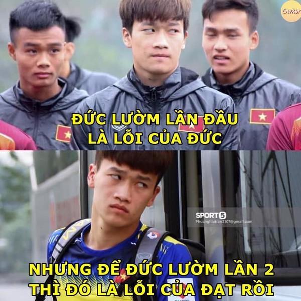 Ảnh chế cực 'lầy lội' của các chàng tuyển thủ Việt theo triết lý tình yêu của Miss Hương Giang khiến dân mạng cười nghiêng ngả-5